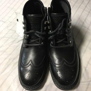 NWT Men's Rockport trutech Black Boots